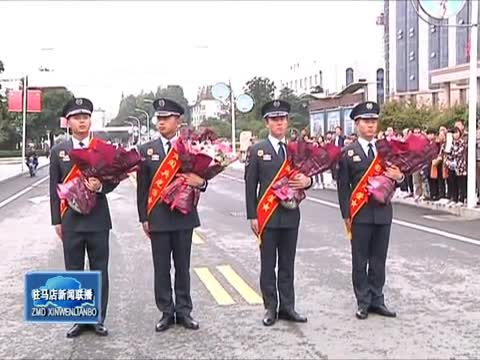 990医院欢迎参加国庆阅兵勇士凯旋