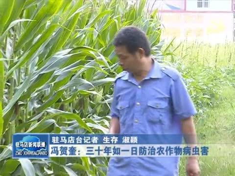 馮賀奎三十年如一日防治農作物病蟲害