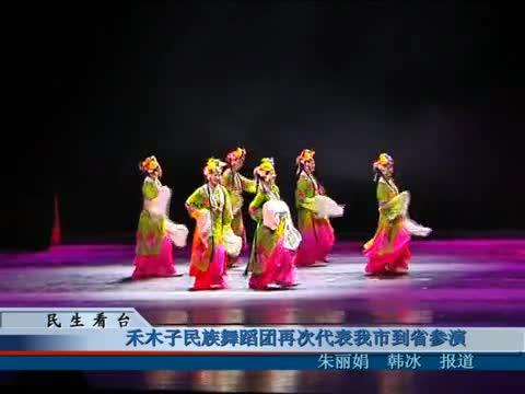 禾木子民族舞蹈团再次代表我市到省参演