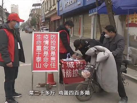 泌阳县党员志愿者抗疫一线勇担当