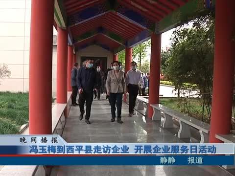 冯玉梅到西平县走访企业 开展企业服务日活动