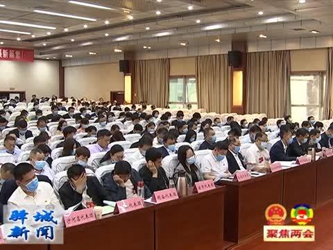驻马店市驿城区第十五届人民代表大会第四次会议举行第二次全体会议