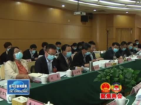市政协四届五次会议进行分组审议
