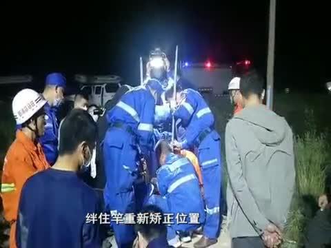 市紅十字蛟龍應急搜救隊看望被救落井男童