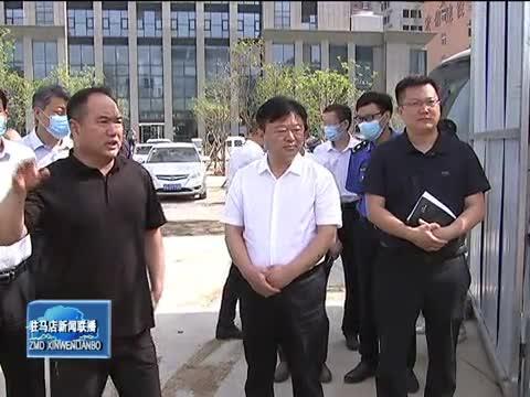 陈星到市中心城区调研园林绿化项目