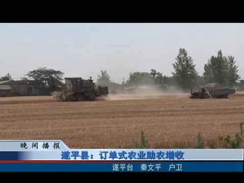 遂平縣:訂單式農業助農增收