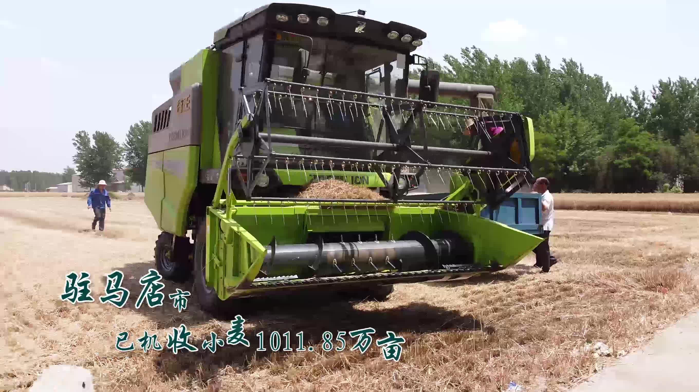 視頻|河南駐馬店:小麥機收工作基本結束