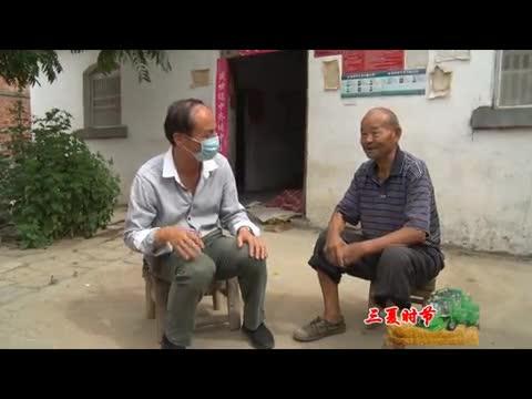 遂平县第一高级中学驻村工作队助力三夏生产