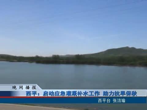 西平:启动应急灌溉补水工作 助力抗旱保秋