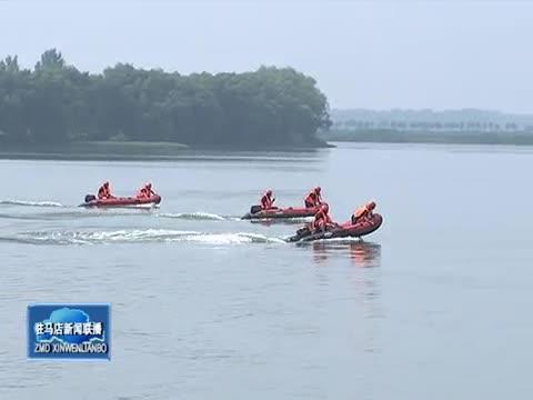 宿鸭湖水库防汛综合应急演练举行 朱是西现场观摩指导演练