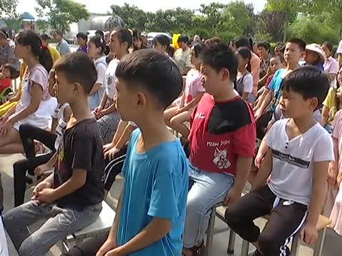 确山县开展青少年防溺水知识教育