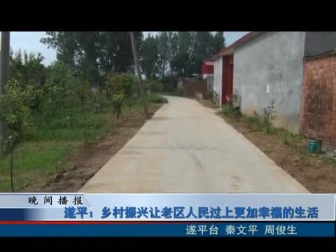 遂平:乡村振兴让老区人民过上更加幸福的生活