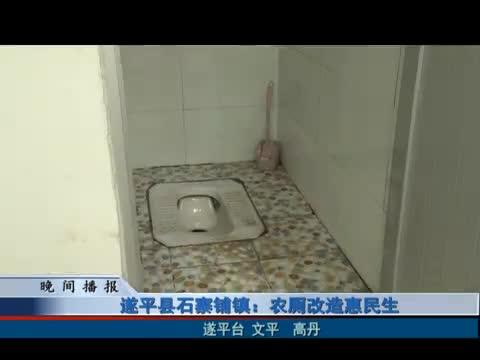 遂平石寨铺镇:农厕改造惠民生