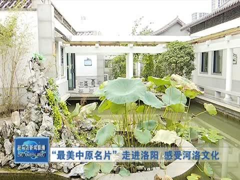 """""""最美中原名片""""走进洛阳 感受河洛文化"""
