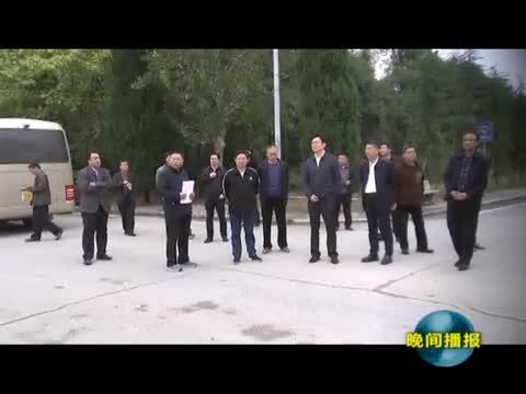 """民建中央調研組來我市開展""""淮河水患的緣由與對策""""專題調研"""
