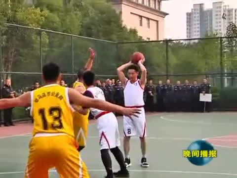 """市公安局举行""""忠诚杯""""篮球比赛"""