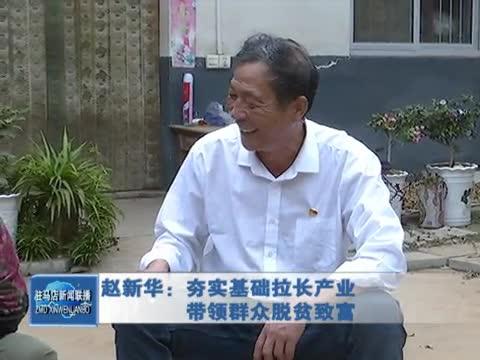 赵新华:夯实基础拉长产业 带领群众脱贫致富