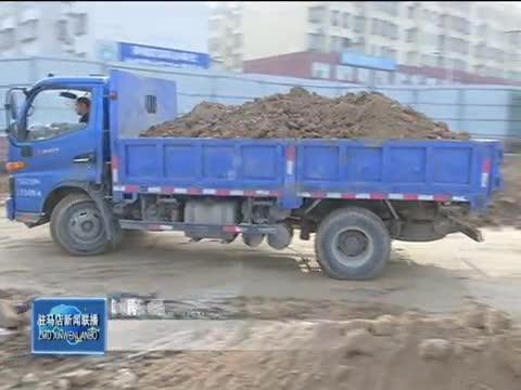 市中心城区解放大道下穿京广铁路立交桥工程正紧张施工