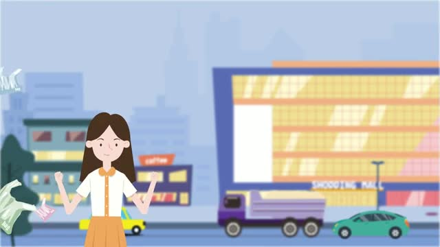 减塑行动动画宣传视频——商超书店篇