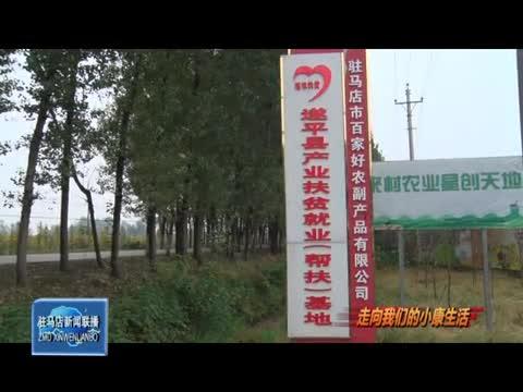 遂平县玉山镇:种养殖产业助力群众致富奔小康