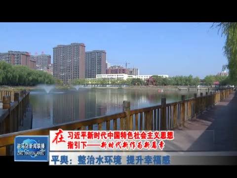 平舆:整治水环境 提升幸福感