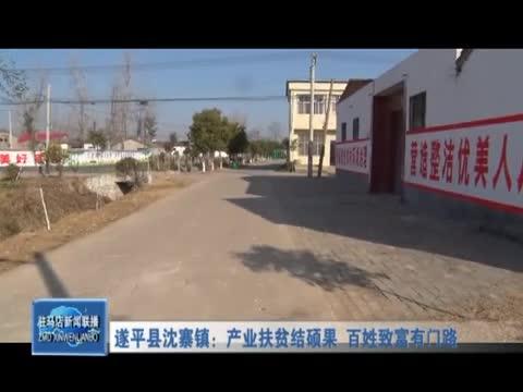 遂平县沈寨镇:产业扶贫结硕果 百姓致富有门路