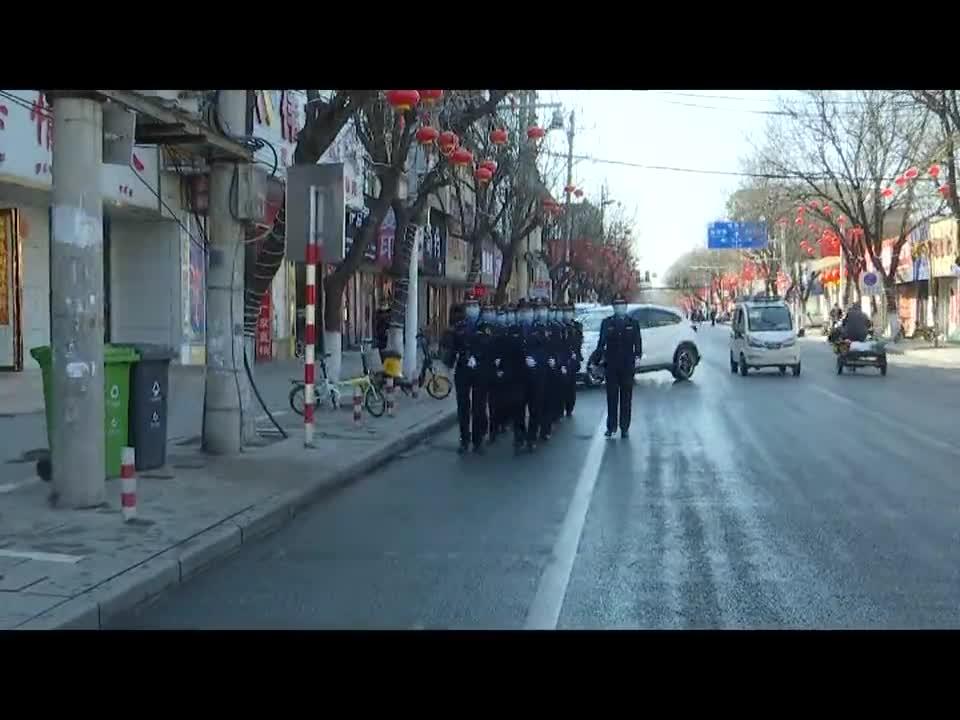 正阳县城管局:春节坚守岗位 保障环境秩序