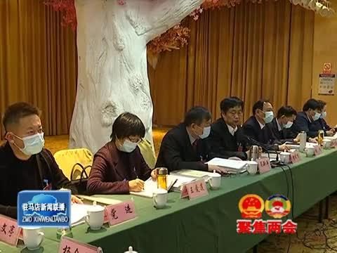 市政协四届六次会议进行分组审议