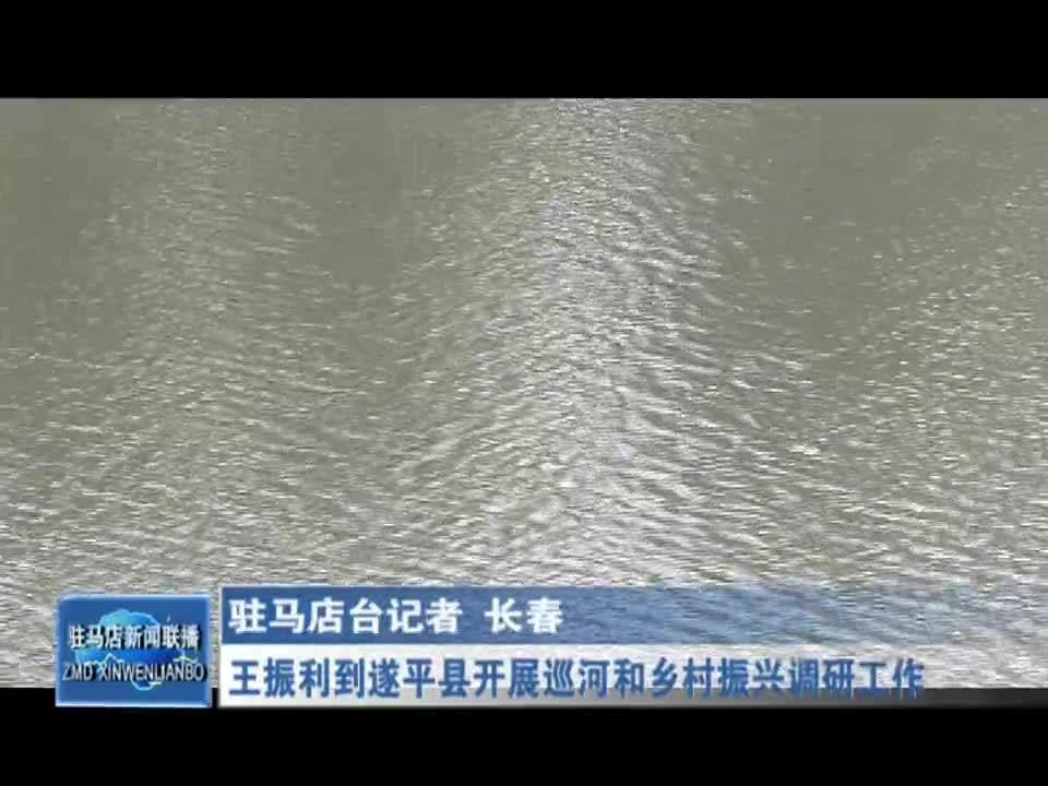王振利到遂平县开展巡河和乡村振兴调研工作