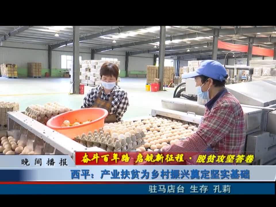 西平:产业扶贫为乡村振兴奠定坚实基础