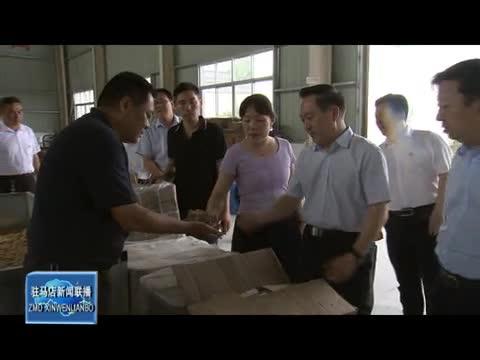 李宝清到确山县调研指导党史学习教育