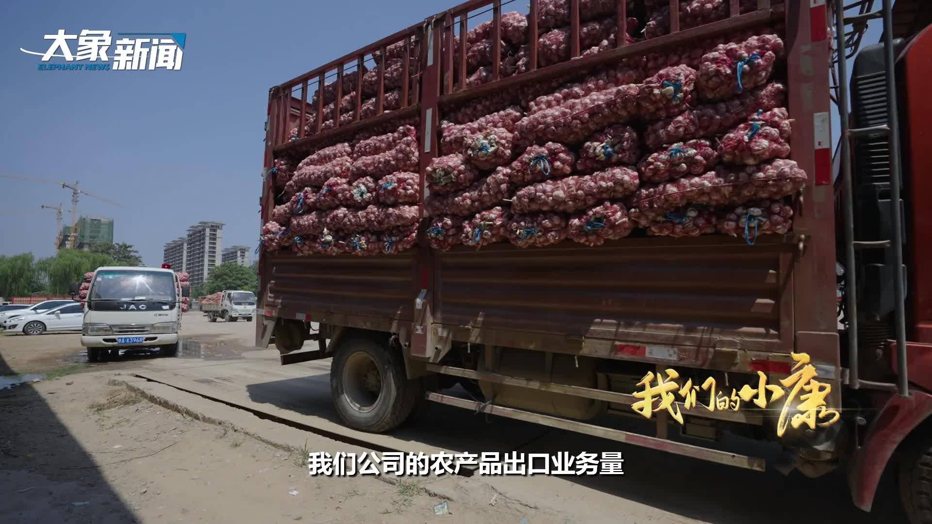 【我们的小康】我把河南大蒜卖到了中东
