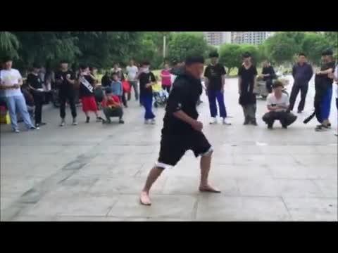 《驻马店市首届曳步舞交流会》