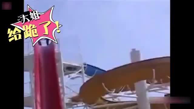 热点视频《妹子作死挑战高空滑水 》